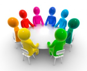 Image of People around a Table