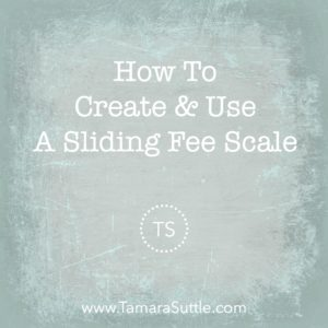 How to Create & Use a Sliding Scale