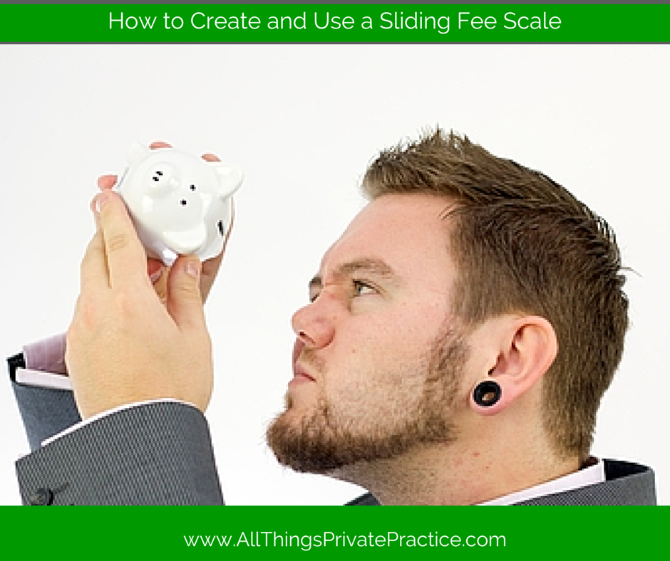 How to Create and Use a Sliding Fee Scale