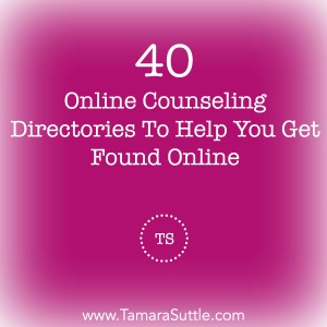 40 Online Counseling Directories